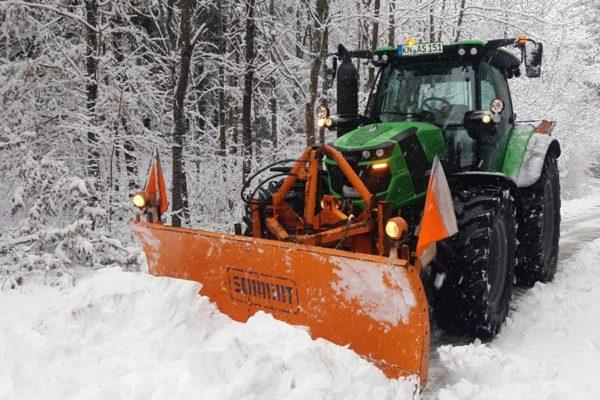 Bodanrück Schneeräumen